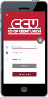 picture of CCU mobile app